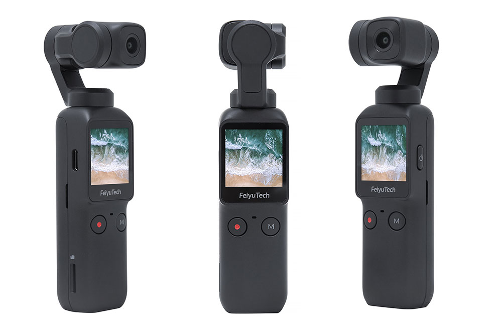 Feiyu Pocket 4K Gimbal Stabilized Handheld Camera